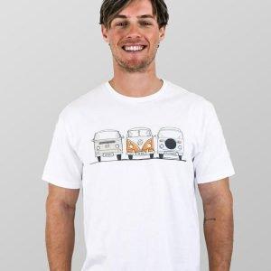 Manly T Shirt Kombi Mens White