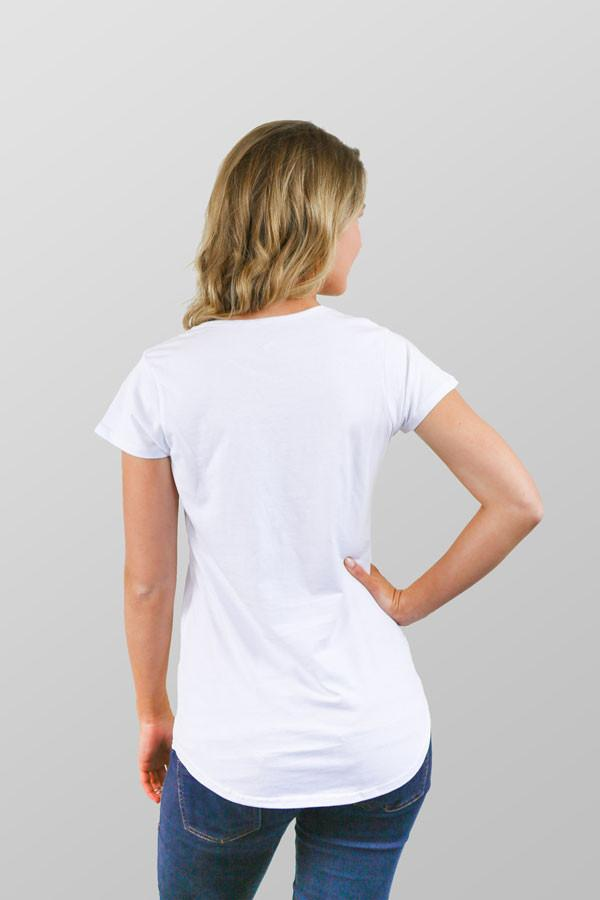 Manly T Shirt Kombi Womens White