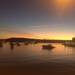 Sunsets at Manly Cove, Manly