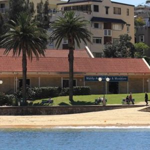 Manly Art Gallery & Museum, Manly Cove