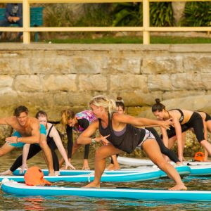 Things to do in Manly - SUP Yoga
