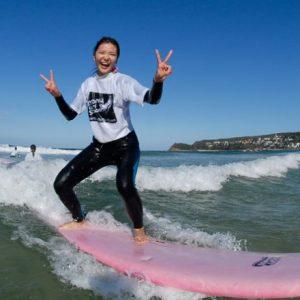Surf at Manly Beach Sydney Australia