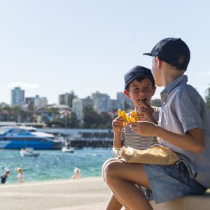 Takeaway at Manly Cove