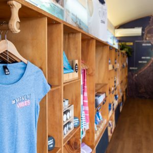 Shopping at the Manly Visitor Information Centre