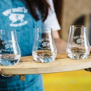 Gin tasting at Manly Spirits