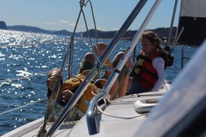 Dine and Discover sailing