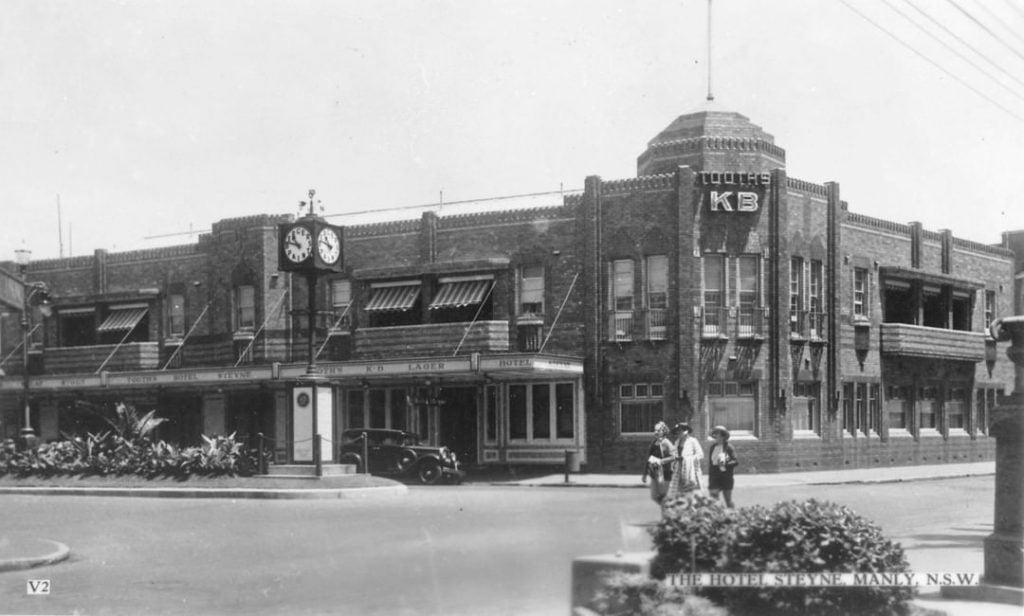 old images of Hotel Steyne