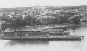 Manly Cargo Wharf , around 1920's