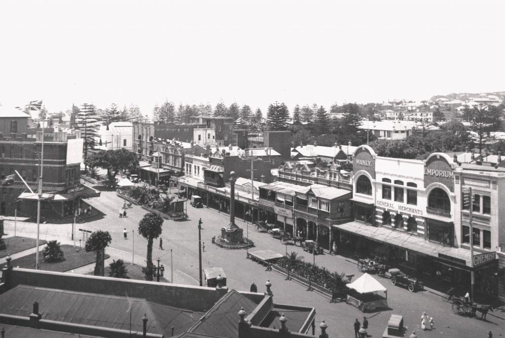 Manly Corso in 1922