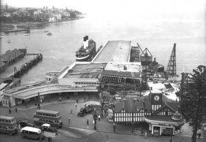 Manly Wharf 1941
