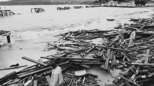 After the 1974 Storm in Manly Cove