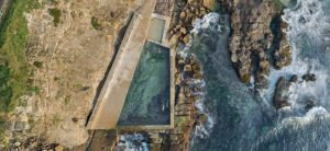 Northern Beaches Rock Pools Arial View Of Avalon