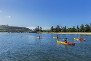 Things to do with Dine and discover Kayaking