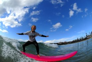 Surfing in Manly, Dine and Discover