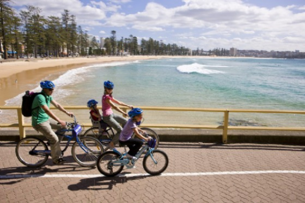 Bike riding Manly, Northern Beaches, Sydney
