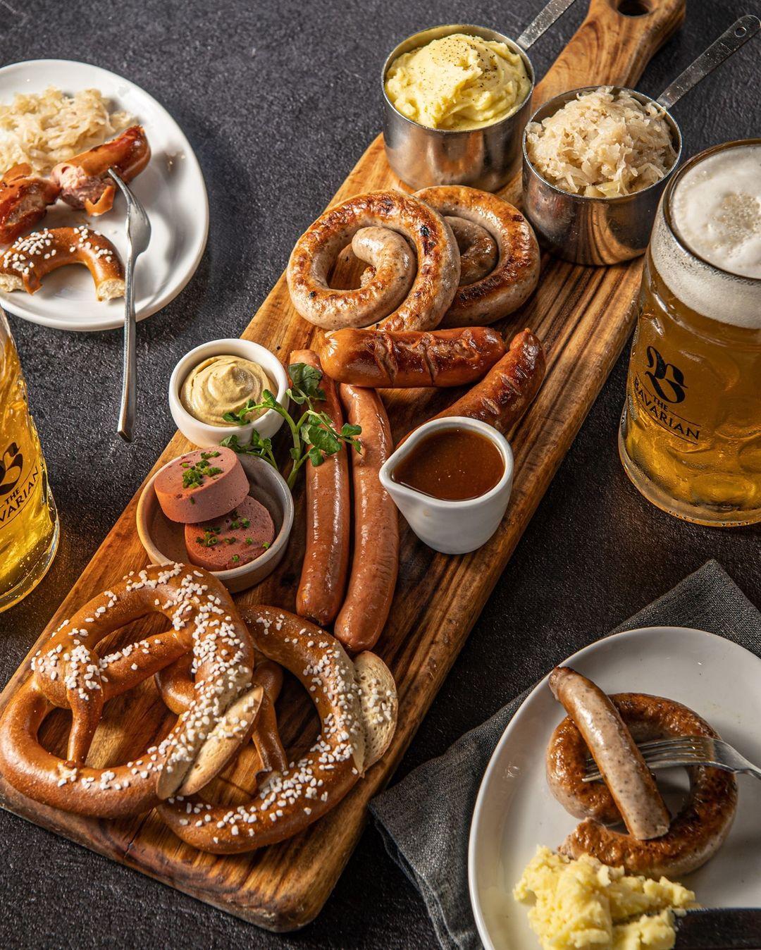 The Bavarian, Manly - Winter Platter